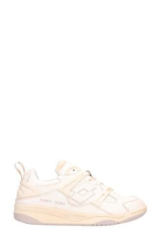 DAMIR DOMA / LOTTO DAMIR DOMA / LOTTO Flor White With Pink Shadows Sneakers (wit)