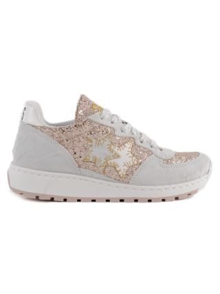 2Star 2 Star Glittered Running Sneakers (multicolor)