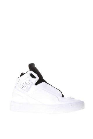 Maison Margiela Maison Margiela Two Tones Sneakers In Leather (wit)