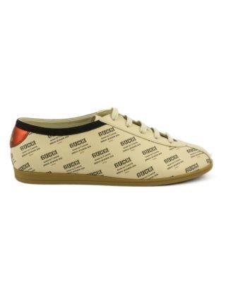 Gucci Falacer Gucci Invite Print Sneaker. (beige)