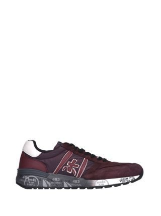 Premiata Lander 3246 Red Sneakers (rood)
