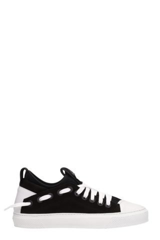 Bruno Bordese Bruno Bordese Triangular Black White Nabuk Sneakers (zwart)