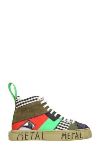 Gienchi Gienchi Patchwork Multicolor Sneakers (groen)