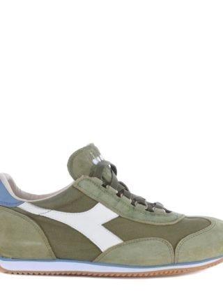 Diadora Heritage Diadora Heritage Embroidered Mid-cut Sneakers (groen)