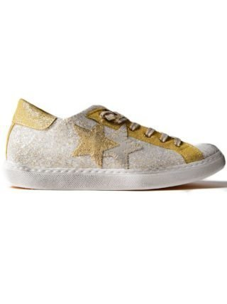 2Star 2star Patched Sneakers (goud/zilver)