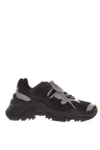 N.21 N.21 Billy Black & Gray Running Sneakers (zwart)