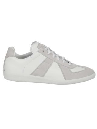Maison Margiela Maison Margiela Lace Up Sneakers (wit)