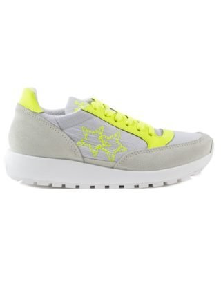 2Star 2star 2star Running Embroidered Star Sneakers (geel)
