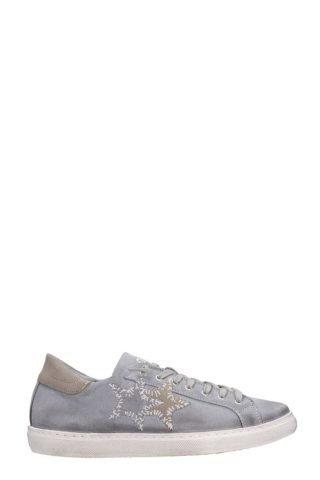 2Star 2Star Low Star Grey Suede Sneakers (grijs)