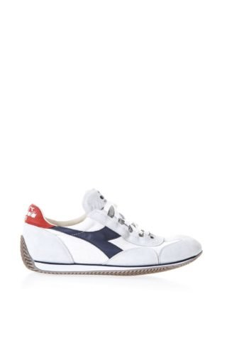 Diadora Heritage Diadora Heritage Equipe White Suede & Fabric Sneakers (wit)