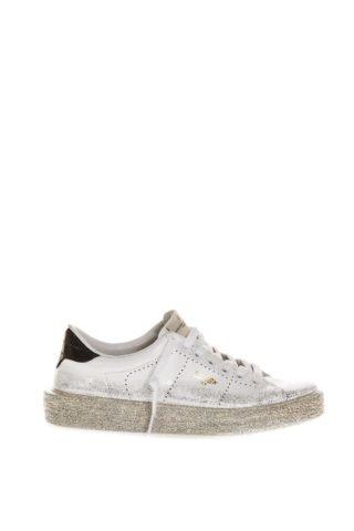 Golden Goose Golden Goose White Ggdb Glitter Spray Tennis Sneaker (wit)