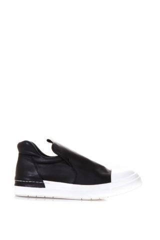 Cinzia Araia Cinzia Araia Black Leather Slip On Sneakers (zwart)