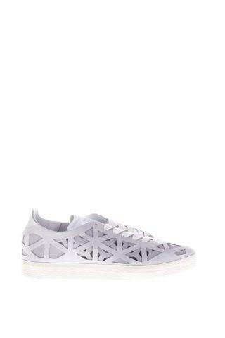 Adidas Originals Adidas Originals Gazelle Cutout Leather Sneakers (wit)