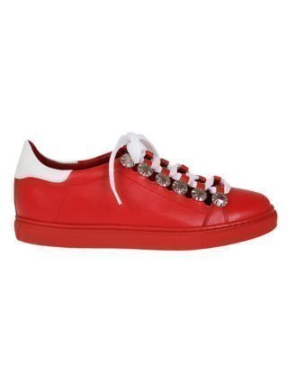 Toga Pulla Toga Pulla Cut-out Embellished Sneakers (rood)