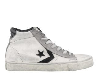 Converse Converse Pro Leather Sneakers (wit/zwart)