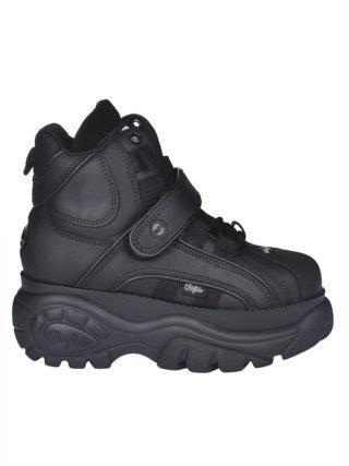 Buffalo Buffalo 1348 Platform Sneaker Boots (zwart)