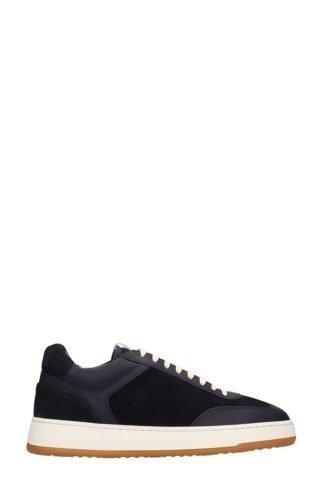 Etq Etq Blue Suede Low 5 Sneakers (blauw)
