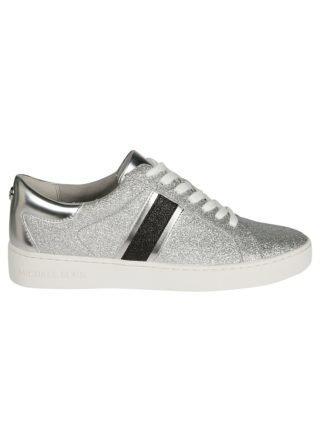 Michael Kors Michael Kors Keaton Striped Glitter Sneakers (zilver)
