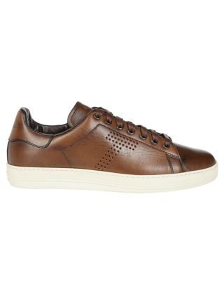Tom Ford Tom Ford T Perforated Sneakers (bruin)