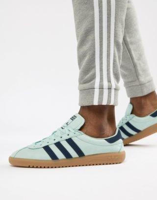 Adidas Originals Bermuda In Green CQ2783
