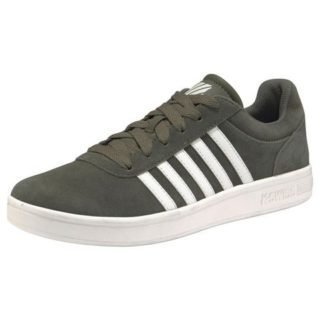 k-swiss-sneakers-court-cheswick-suede-groen