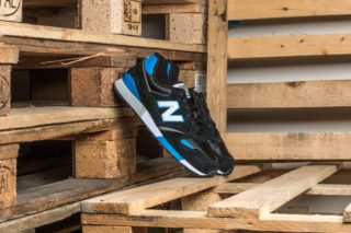 New Balance U446KB Black/ Blue-Grey/ White