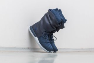 Nike W Roshe Two Hi Flyknit College Navy/ College Navy