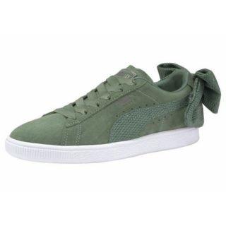 puma-sneakers-suede-bow-uprising-groen