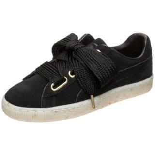 puma-sneakers-suede-heart-celebrate-zwart