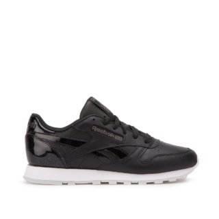 Reebok Classic Leather L W (zwart/wit)