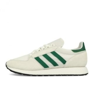 best sneakers d196c ee4db adidas Forest Grove Crystal White Collegiate Green Black