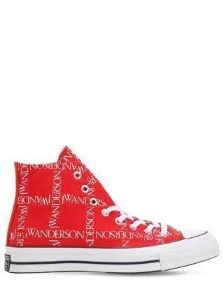 J.w. Anderson Chuck 70 Hi Top Sneakers (rood)