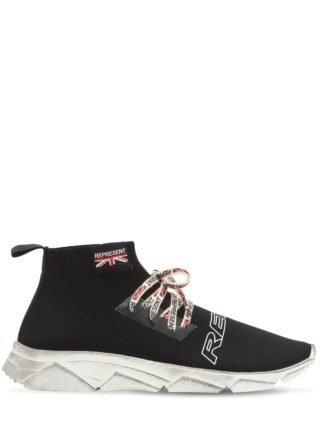 Lace Racer Sneakers (zwart)
