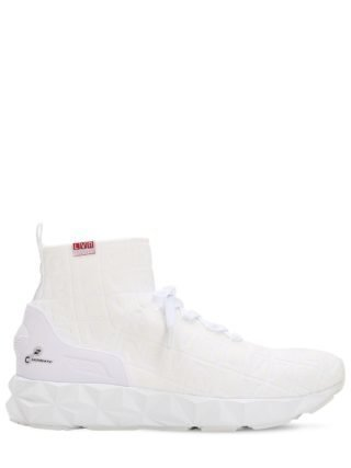 Lvr Edition 3d Knit Sock Sneakers (wit)
