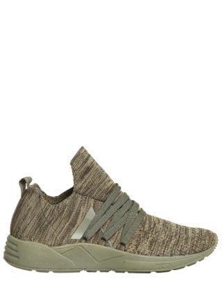 Raven Future Grid 2.0 Knit Sneakers (groen)