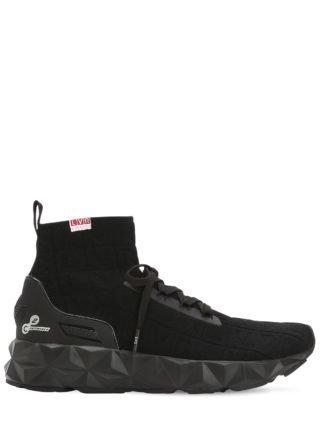 Lvr Edition 3d Knit Sock Sneakers (zwart)