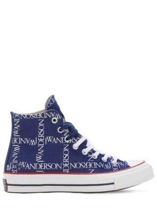 J.w. Anderson Chuck 70's Hi Top Sneakers (blauw)