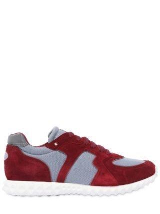Valentino Garavani Hive Sneakers (rood/grijs)