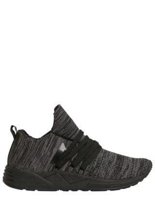 Raven Future Grid 2.0 Knit Sneakers (zwart)