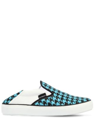 20mm Babouche Canvas Slip-on Sneakers (blauw)