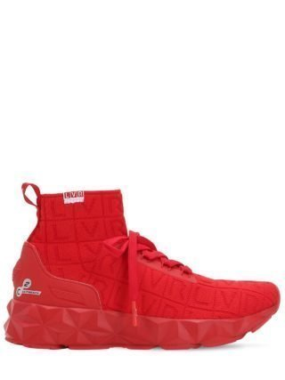 Lvr Edition 3d Knit Sock Sneakers (rood)