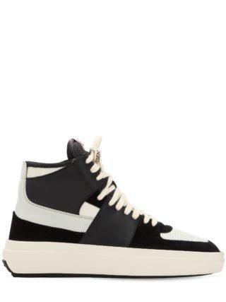 Alpha Mid Sneakers (zwart)