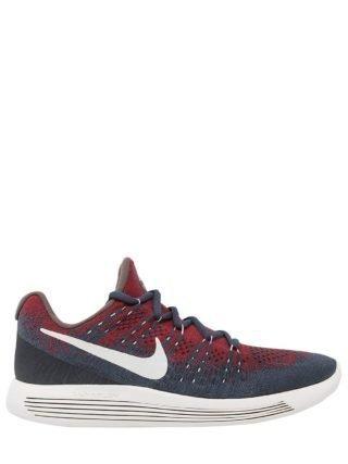 Nikelab Lunarepic Flyknit 2 Sneakers (blauw/rood)