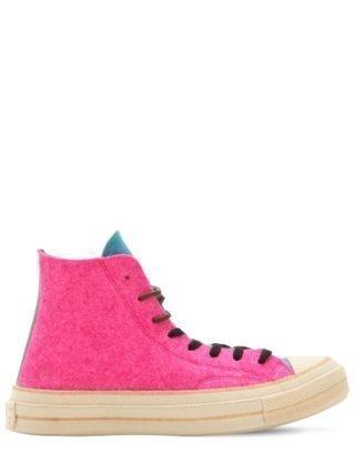 J.w. Anderson Chuck 70's Hi Top Sneakers (multicolor)