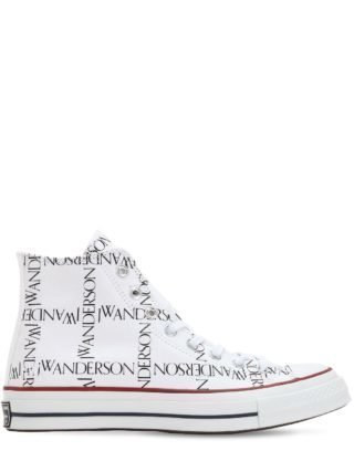 J.w. Anderson Chuck 70 Hi Top Sneakers (wit)