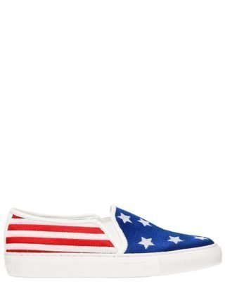 20mm Michelle American Flag Sneakers (rood/blauw/wit)
