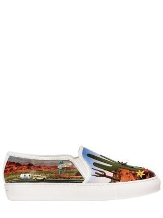 20mm Beverly Faux Leather Sneakers (multicolor)