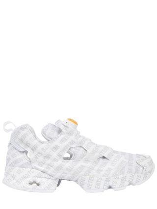 Reebok Logo Instapump Fury Sneakers (wit/grijs)