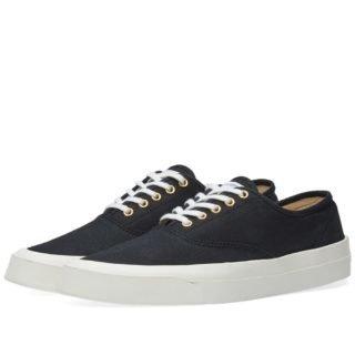 Maison Kitsuné Canvas Sneaker (Black)