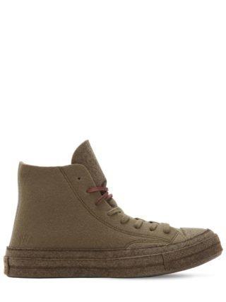 J.w. Anderson Chuck 70's Hi Top Sneakers (groen)
